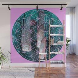 Crystal flower of life | Secret Geometry Wall Mural