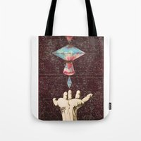 constellations Tote Bags featuring Constellations  by Laura Carpenter