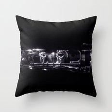 The Clarinet Throw Pillow