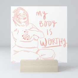 My Body Mini Art Print