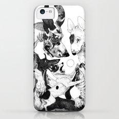 Dogs iPhone 5c Slim Case