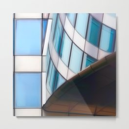Real architecture in Paris, No.1 Metal Print