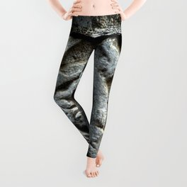 Medieval Carved Stone Wall Leggings