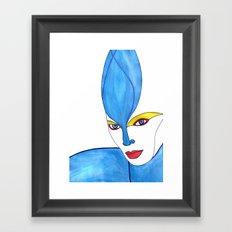 Shaima (previous age) Framed Art Print
