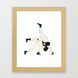 Delicate Judoka 03 Framed Art Print
