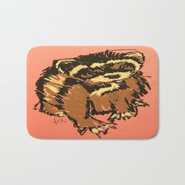 Itty the ferret boy Bath Mat