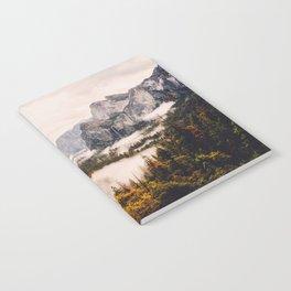 Amazing Yosemite California Forest Waterfall Canyon Notebook