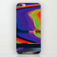 glitch iPhone & iPod Skins featuring Glitch by Simon Langlois