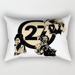 27 club Rectangular Pillow