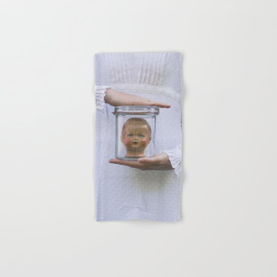 Doll in a jar Hand & Bath Towel