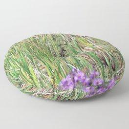 Mallard Duck in natural environment Floor Pillow