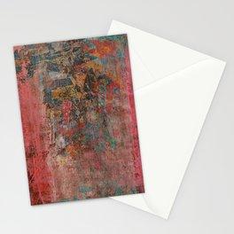 Elegante Signora in un Giorno Piovoso Stationery Cards