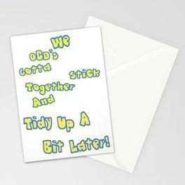 OCD's unite! Stationery Cards
