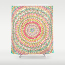 Mandala 504 Shower Curtain
