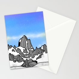 Monte Fitz Roy Stationery Cards