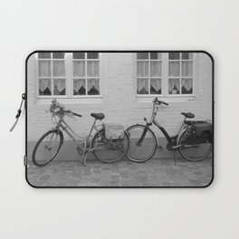 Bicycles in Bruges Laptop Sleeve