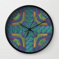 rio Wall Clocks featuring Rio by Lyle Hatch