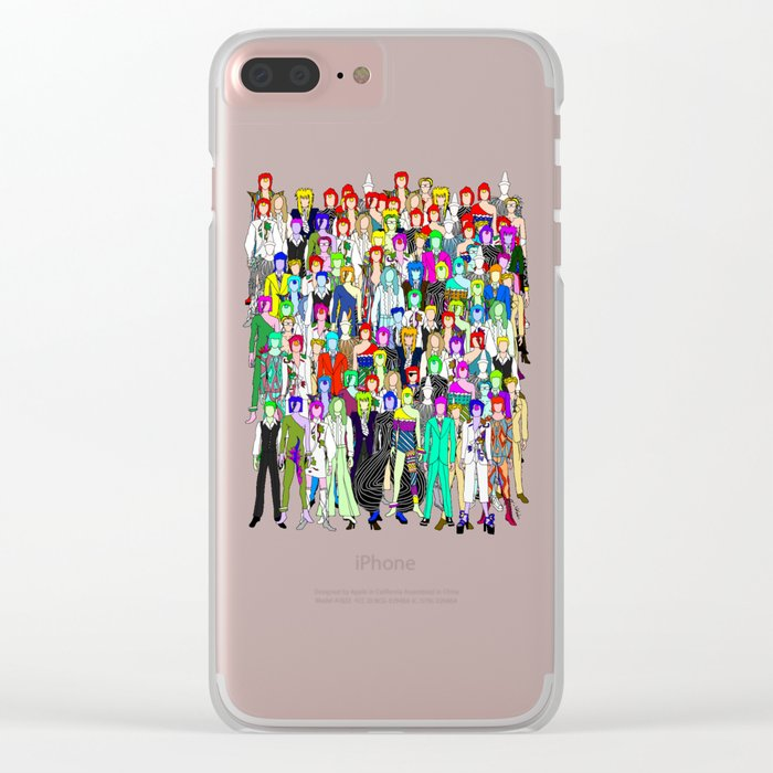 Heroes Punks in Tokyo Clear iPhone Case