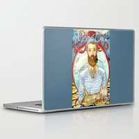 moby Laptop & iPad Skins featuring Moby Dick by Rose Draft