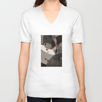 dance V-neck T-shirts featuring Dance by Julia Tomova