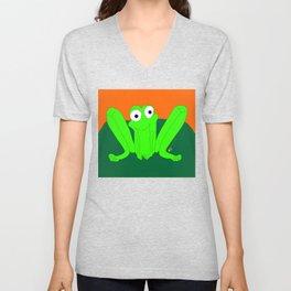 Shy Froggy Unisex V-Neck