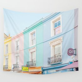 Oi! Notting Hill, London Travel Photography Wall Tapestry