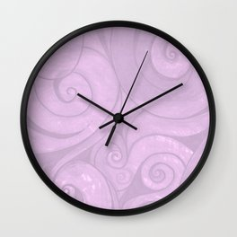 lavender II Wall Clock