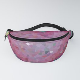Pink heart. Abstract. Big pink heart Fanny Pack