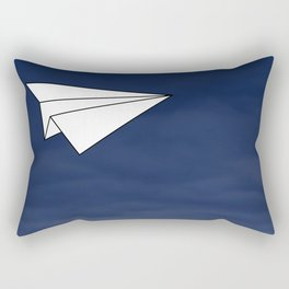 Paper Airplane Rectangular Pillow