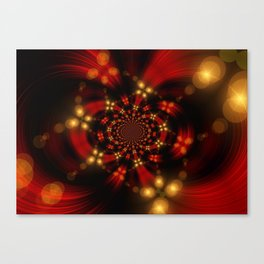 Christmas-Fractal Canvas Print