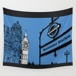 lonDRes cAPitale Wall Tapestry