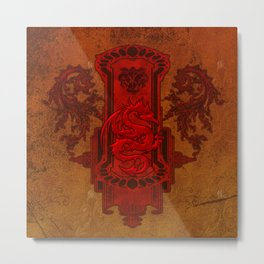 Chinese dragon Metal Print