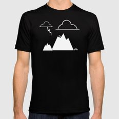 The Adventurer Mens Fitted Tee Black LARGE