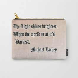 Light Shines Carry-All Pouch