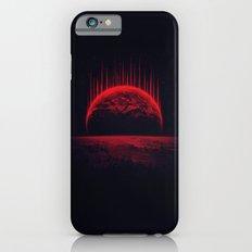 Lost Home! Colosal Future Sci-Fi Deep Space Scene in diabolic Red iPhone 6s Slim Case