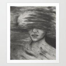 Fire Witch Art Print