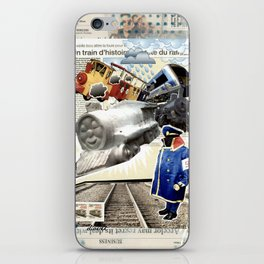 COLLAGE: Trains iPhone Skin