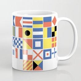 Nautical Flags Coffee Mug
