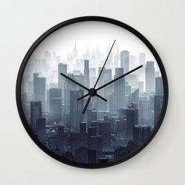 City Haze Wall Clock