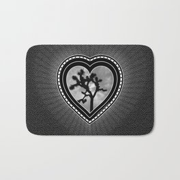 Joshua Tree Heart of the Hi-Desert by CREYES Bath Mat