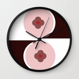 Rise of the Valley Wall Clock