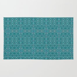 Deep Style Digital Pattern and Butterfly 00 Rug