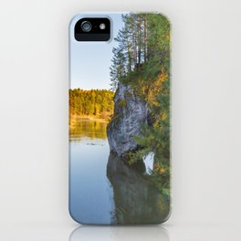 Natural arch in the Park Deer streams  iPhone Case