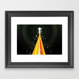 Transfiguration (by Steve Brubaker) Framed Art Print