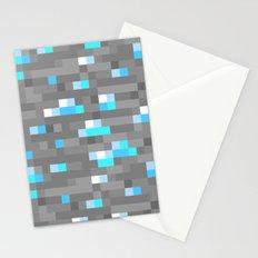 Mined Diamond Block Everything Stationery Cards
