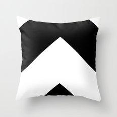 B/N Throw Pillow