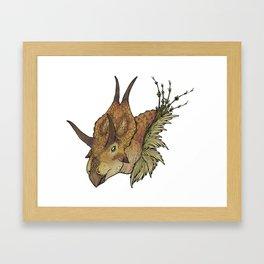 Diabloceratops Framed Art Print