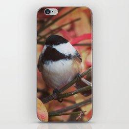 Chickadee for My Mom iPhone Skin