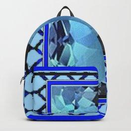 AQUAMARINE MARCH GEM BIRTHSTONE MODERN ART Backpack