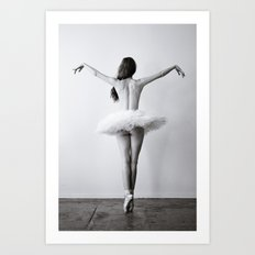 The Dying Swan Art Print